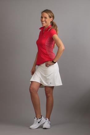 KIU Pleated Skirt white