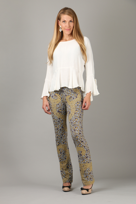 Mosaic Pants blue/turkos