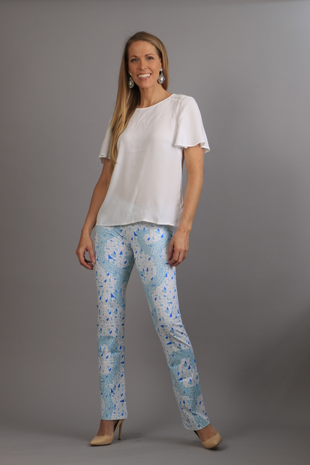 Mosaic Pants blue/turkos