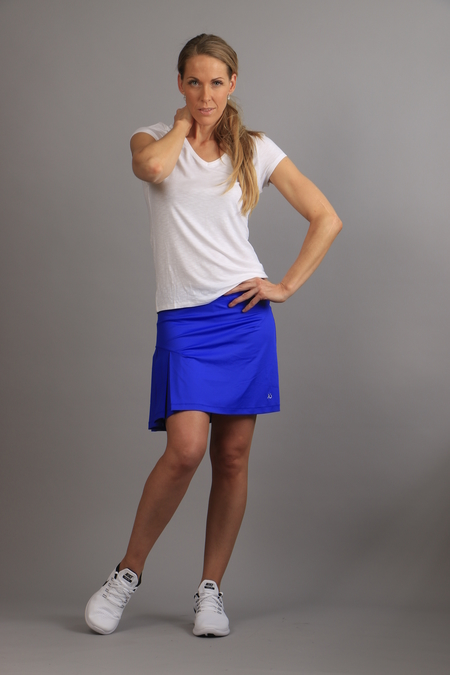 KIU Pleated Skirt blue