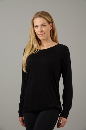 Warm Up Top Long Arm black
